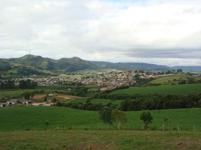23 de Abril - Vista parcial de Piraí do Sul - PR.