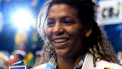 24 de Abril - 1992 - Rafaela Silva - judoca medalhista olímpica brasileira.