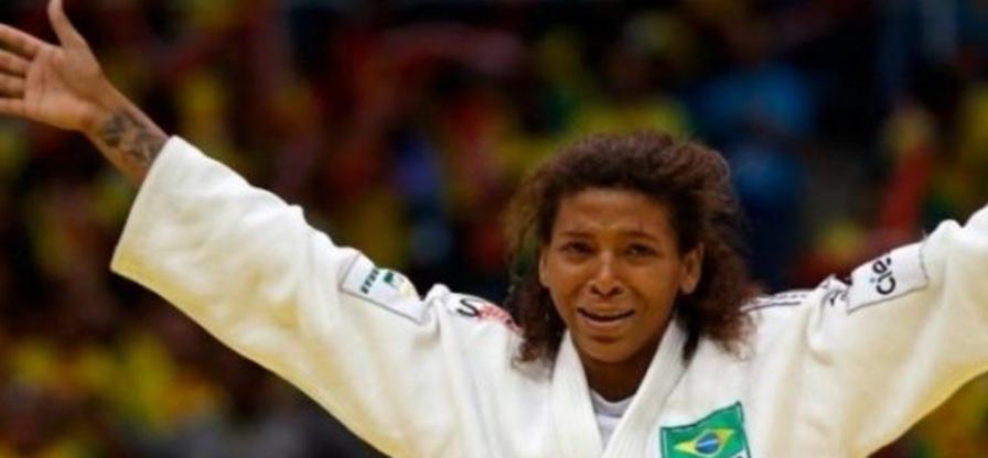 24 de Abril - 1992 - Rafaela Silva, judoca medalhista olímpica brasileira.