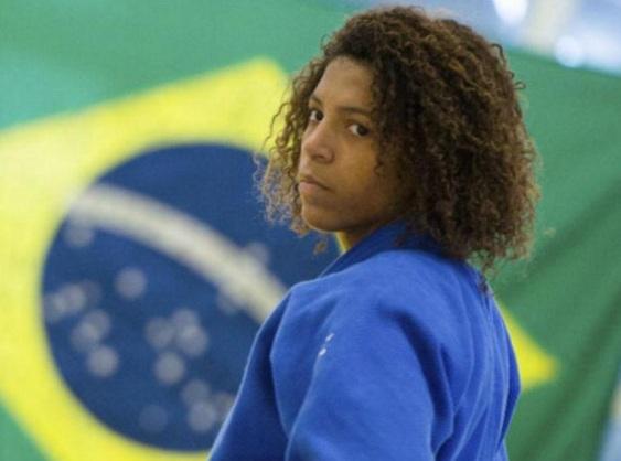 24 de Abril - 1992 - Rafaela Silva, judoca, medalhista olímpica brasileira.