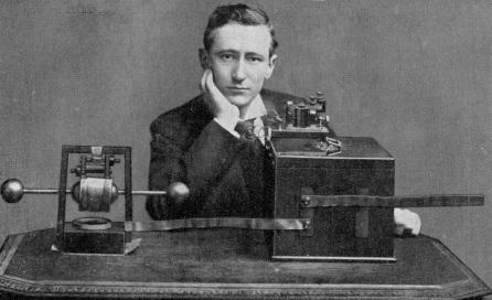 25 de Abril - 1874 — Guglielmo Marconi, inventor italiano (m. 1937).