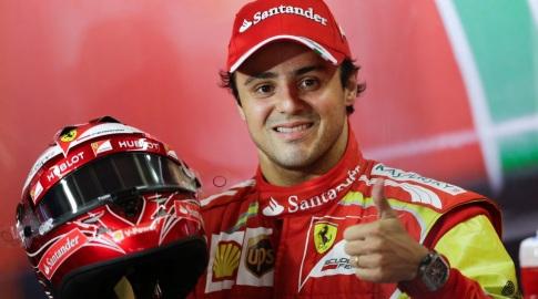 25 de Abril - 1981 — Felipe Massa, piloto brasileiro de Fórmula 1 - na Ferrari.