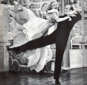 25 de Abril - Ginger Rogers e Fred Astaire.