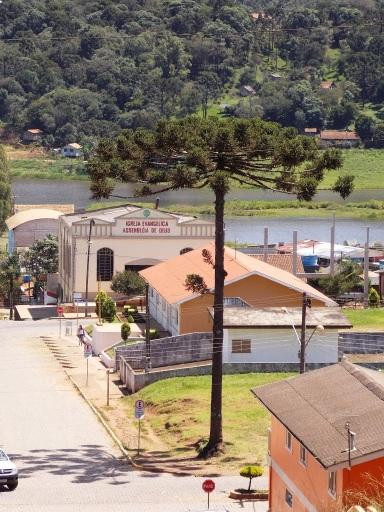 26 de Abril - Timbó Grande - SC - IGREJA e PREFEITURA MUNICIPAL.