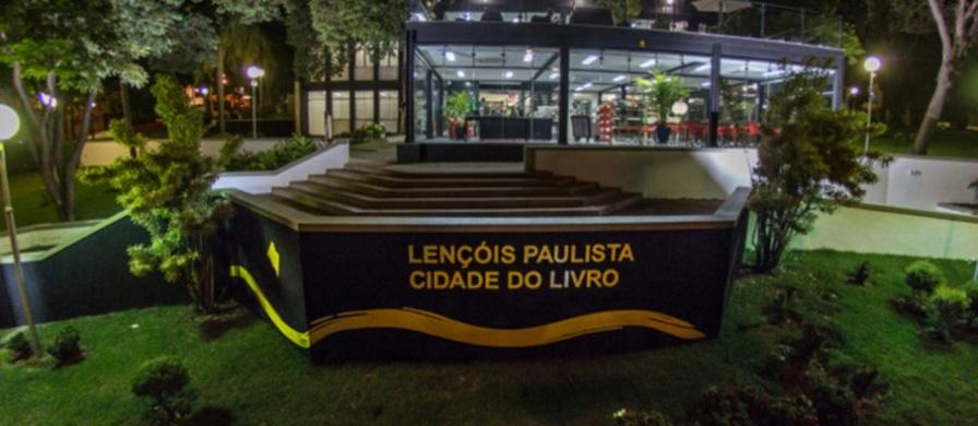 28 de Abril - Lençóis Paulista - SP - Cidade do Livro - Circuito Cultural Paulista.