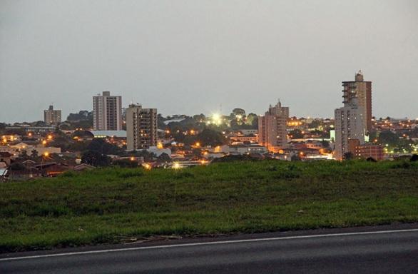 28 de Abril - Lençóis Paulista vista à partir da Rodovia Marechal Rondon..