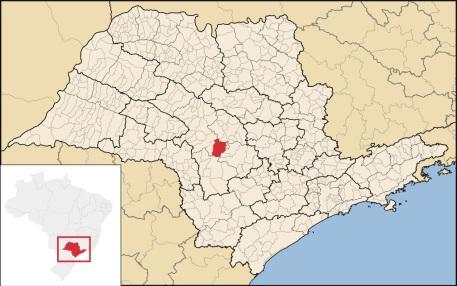 28 de Abril - Mapa de Lençóis Paulista - SP.