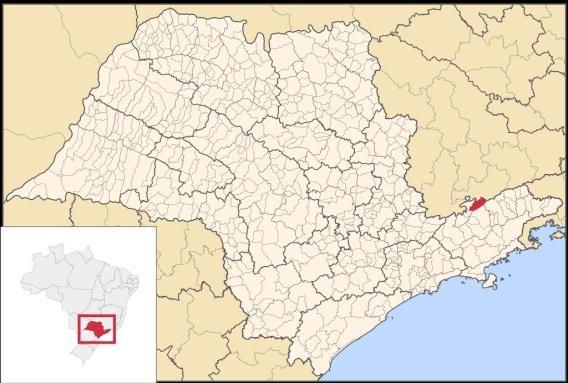 29 de Abril - Campos do Jordão - SP - Mapa.