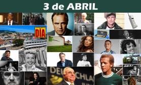 3 de Abril - Poster do Dia