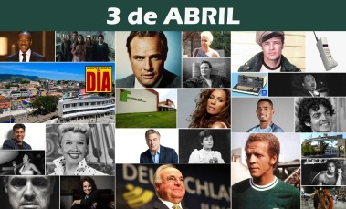 3 de Abril - Poster do Dia