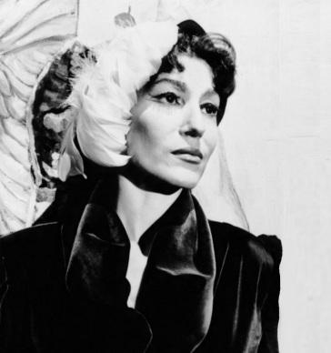 6 de Abril - 1921 - Cacilda Becker, atriz brasileira (m. 1969).