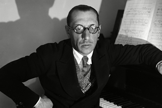 6 de Abril - 1971 — Ígor Stravinski