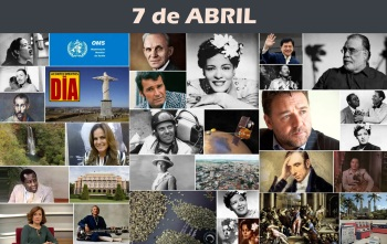 7 de Abril - Poster do Dia