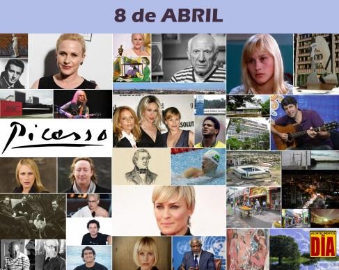8 de Abril - Poster do Dia