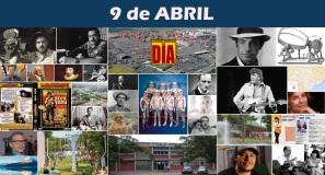 9 de Abril - Poster do Dia