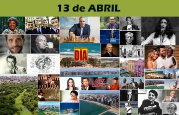 Poster do Dia - 13 de Abril