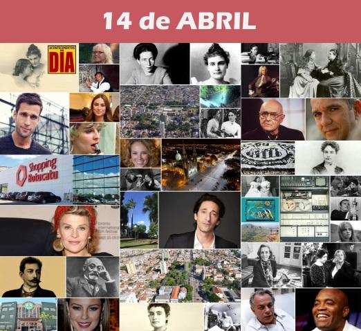 Poster do Dia - 14 de Abril