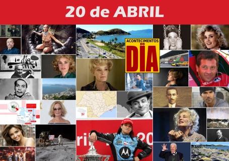 Poster do Dia - 20 de Abril