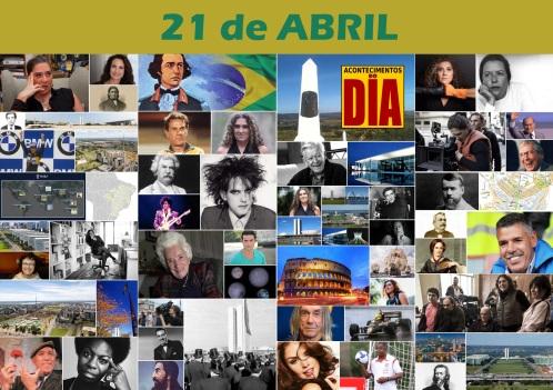Poster do Dia - 21 de Abril