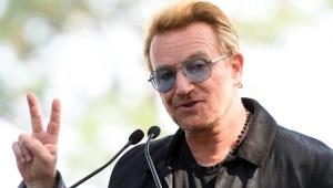 10 de Maio - 1960 - Bono, cantor da banda U2.