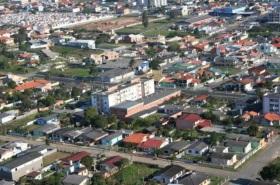 12 de Maio - Aérea da cidade Paraíso do Sul no Rio Grande do Sul.