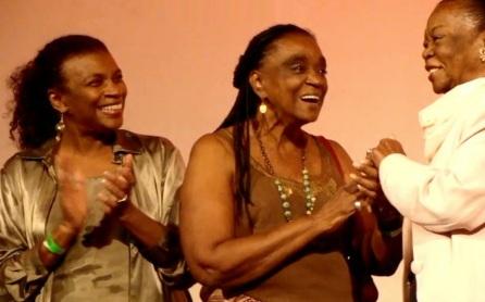 12 de Maio - (Esq. para direita) Zezé Motta, Léa Garcia e Ruth de Souza.
