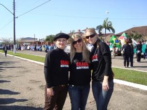 12 de Maio - Paraíso do Sul - RS - Projovem Adolescente - Jô, Neli e Xuxa.