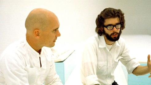 14 de Maio - 1944 – George Lucas, cineasta estadunidense com Robert Duvall.