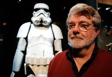 14 de Maio - 1944 – George Lucas, cineasta estadunidense, fase 1, robôs, armadura, soldados, Império.