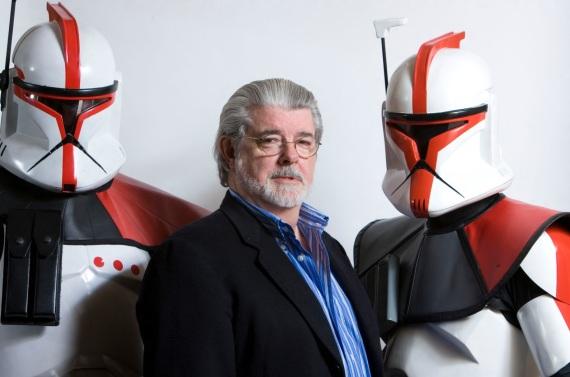 14 de Maio - 1944 – George Lucas, cineasta estadunidense, robôs, armadura, soldados, Império.