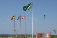 14 de Maio - Assis Brasil (AC) 41 Anos - Fronteira com o Peru - Bandeiras.