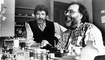 14 de Maio – George Lucas com Francis Ford Coppola.