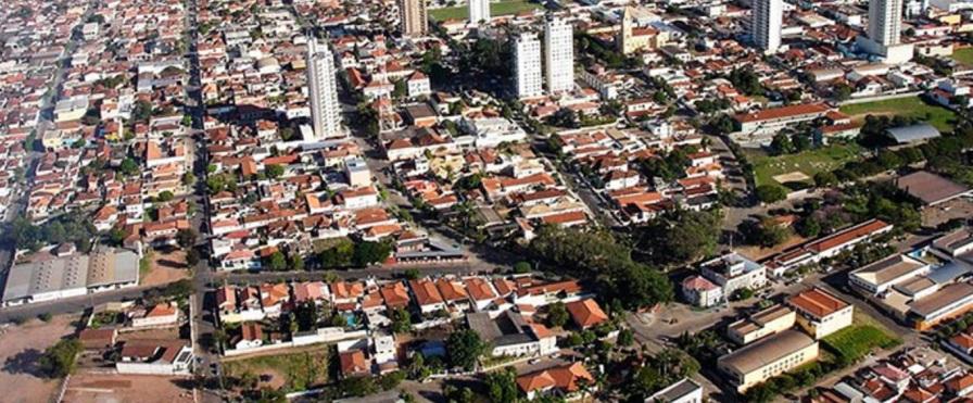15 de Maio - Monte Alto (SP) - Aérea da cidade