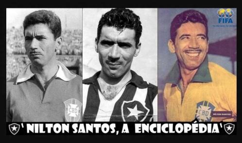 16 de Maio - 1925 – Nilton Santos, futebolista brasileiro, a Enciclopédia do Futebol.
