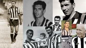 16 de Maio - 1925 – Nilton Santos, futebolista brasileiro (m. 2013) - fotomontagem, no Botafogo.