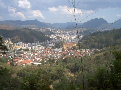 16 de Maio - Nova Friburgo (RJ) – Nova Friburgo vista a partir do Instituto Politécnico do Rio de Janeiro da Universidade do Estado do Rio de Janeiro.