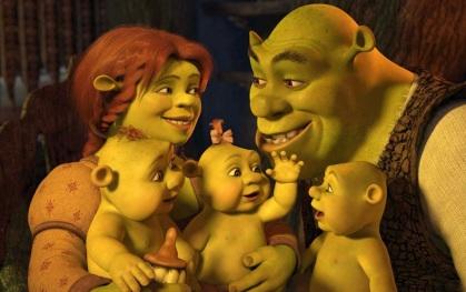 18 de Maio - Shrek Family, família, desenho.