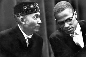 19 de Maio - Malcolm X com Elijah Muhammad.