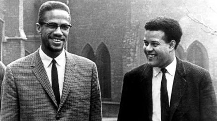 19 de Maio - Malcolm X em entrevista na BBC.