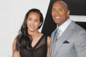 2 de Maio - 1972 — Dwayne Johnson, ator e lutador norte-americano e a filha Simone Alexandra Johnson.