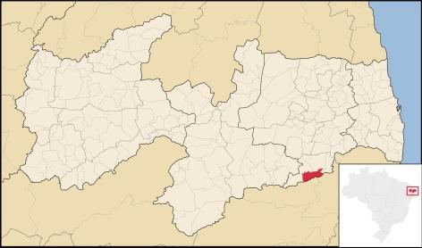 2 de Maio - Umbuzeiro (PB) - Mapa