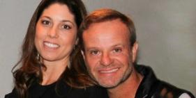 23 de Maio - Rubens Barrichello com a esposa, Silvana Barrichello.