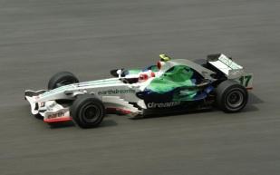 23 de Maio - Rubens durante o GP da Malásia, em 2008, na Honda.