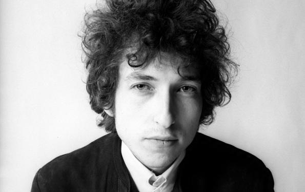 24 de Maio - 1941 – Bob Dylan, músico e compositor norte-americano - close, pb,bw.