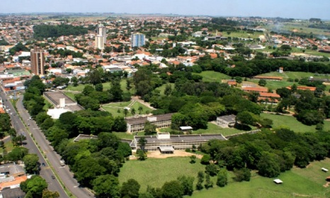 24 de Maio - Foto aérea – Arborização - Nova Odessa (SP) 112 Anos.