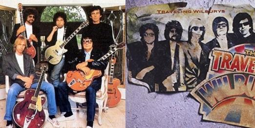 24 de Maio - The Traveling Wilburys - Bob Dylan, Roy Orbison, George Harrison, Tom Petty e Jeff Lynne.