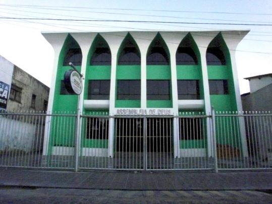 25 de Maio - Assembléia de Deus de Canavieiras - a Primeira do Estado da Bahia.