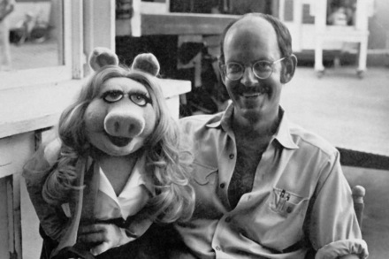 25 de Maio - Frank Oz com Miss Piggy.
