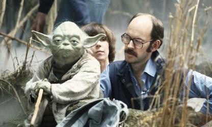 25 de Maio - Frank Oz com Yoda.