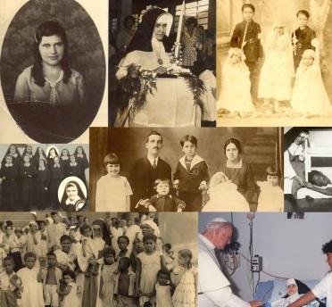 26 de Maio - 1914 – Irmã Dulce, religiosa brasileira - fotomontagem.